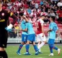 El equipo español venció 3-1 en los penales en un encuentro disputado en Singapur. Foto: EFE/ Wallace Woon