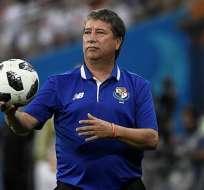 El 'Bolillo' se desempeñó como entrenador de la selección panameña por cuatro años.