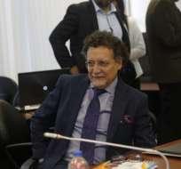Pablo Celi expone informe de concurso de frecuencias elaborado por la Contraloría. Foto: API