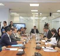 La Comisión de Desarrollo Económico aprobó el informe con 9 votos y 2 abstenciones. Foto: Comisión Desarrollo Económico
