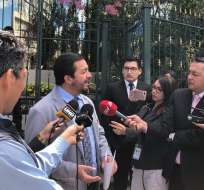QUITO, Ecuador.- Asambleísta Fabricio Villamar solicitó a Contraloría revisar viajes de excanciller Espinosa. Foto: Twitter