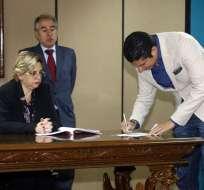 Exmandatario busca que sea apartada del caso Balda la jueza Daniella Camacho. Foto: Archivo API
