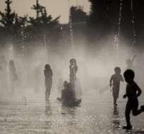 Una ola de calor está asfixiando al continente europeo. Foto: AFP