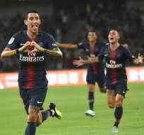SHENZHEN, China.- El delantero argentino Angel Di Maria anotó dos goles en este partido. Foto: AFP