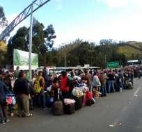 Los alrededores de migración se han convertido en lugares de descanso. Foto:  Twitter