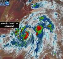 Ambos soplan paralelamente y provocan lluvias intensas en casi todo los estados. Foto: @conagua_clima