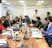 ECUADOR.- El exmandatario fue citado para el 13 de agosto desde el consulado de Ecuador en Bruselas. Foto: Twitter