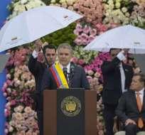 COLOMBIA.- El mandatario colombiano dijo que revisará pacto con las FARC y negociación con el ELN. Foto: AFP