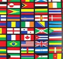 Qué color está ausente en (casi) todas las banderas del mundo.