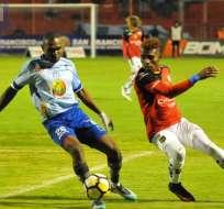 AMBATO, Ecuador.- Deportivo Cuenca venía ganando dos partidos consecutivos. Foto: API