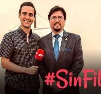 Jorge Calderón es el entrevistado en una nueva edición de Sin Filtro.