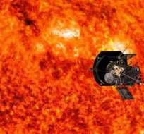 La sonda deberá soportar temperaturas cercanas a 1.400 grados centígrados sin derretirse. Foto: NASA/JOHN HOPKINS APL