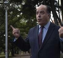 Maduro acusa a Borges y otro legislador de intentar matarlo con drones con explosivos. Foto: AFP