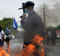 Protestas contra el gobierno dejaron 317 muertos, según Comisión Interamericana de DD.HH. Foto: AFP