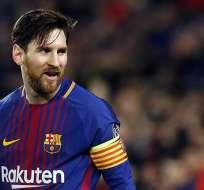 Lionel Messi asume este puesto tras la marcha de Andrés Iniesta al fútbol japonés. Foto: AFP