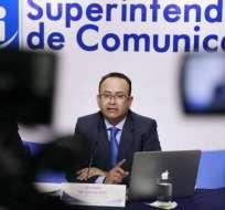 QUITO, Ecuador.- Según Édison Toro, Supercom presenta falencias en auditoría y fiscalización de contenidos de medios. Foto: API