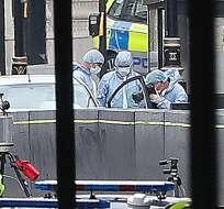 """El presunto autor tiene entre 25 y 30 años y es sospechoso de """"delitos de terrorismo"""". Foto: AFP"""