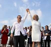 GUAYAQUIL, Ecuador.- Cynthia Viteri fue oficialmente presentada como candidata a la Alcaldía de la ciudad. Foto: Twitter
