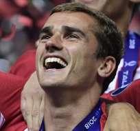 El delantero francés prefirió el Atlético en lugar de ir al FC Barcelona. Foto: JAVIER SORIANO / AFP