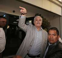 La adquisición de la casa de Galo Chiriboga es investigada por la Fiscalía. Foto: API.