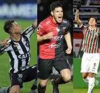 Botafogo, Colón y Fluminense avanzaron a octavos de final de la Copa Sudamericana. Foto: AFP