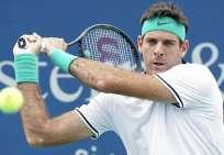 El tenista argentino se recupera de una fractura en su rótula derecha. Foto: Archivo