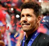 El triunfo de Simeone en la Supercopa de Europa mostró la solidez y profundidad del Atlético de Madrid. Foto: Getty Images