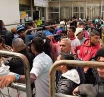 Tensión migratoria en varios países de la región por la situación en Venezuela. Foto: AFP - Referencial