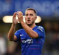 LONDRES, Reino Unido.- El Real Madrid ha demostrado su interés por Hazard. Foto: AFP