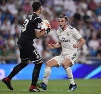 MADRID, España.- Gareth Bale anotó el segundo gol del cotejo al minuto 51. Foto: AFP