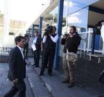 """QUITO, Ecuador.- Según el exlegislador, """"las pruebas y documentos están completamente claros"""". Foto: API"""