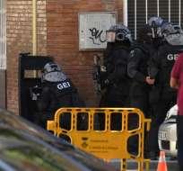 """El agresor tenía """"una voluntad claramente homicida y determinada"""", dicen autoridades. Foto: AFP"""