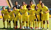 El partido se jugó en el estadio Olímpico Atahualpa. Foto: Tomada de la cuenta Twitter @FEFecuador