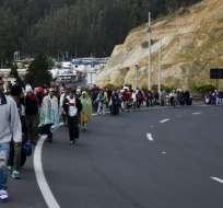 Ecuador convocó cumbre regional para debatir migración de venezolanos. Foto: AFP