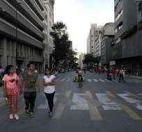 Terremoto de magnitud 7,3 sacudió Venezuela, Colombia y Trinidad y Tobago. Foto: AFP