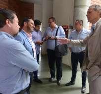 El directivo de Liga de Quito mostró su apoyo al nuevo formato del torneo ecuatoriano. Foto: API