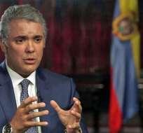 Iván Duque culpabiliza a Maduro de la crisis en Venezuela.
