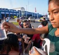"""Ecuador abre """"corredor humanitario"""" para venezolanos que migran hacia Perú. Foto: AFP"""