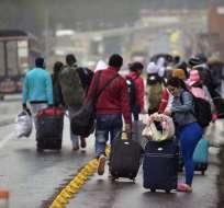 Jueza dejó sin efecto exigencia de pedir pasaporte a los venezolanos que entren al Ecuador. Foto: AFP