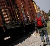 TUXTLA, México.- Los migrantes intentaban cruzar hacia los EE.UU. de forma irregular. Foto: Referencial.