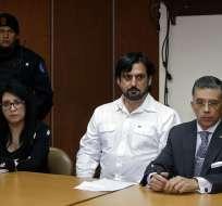 QUITO, Ecuador.- Audiencia del procesado Paul Celiga, hombre acusado de extorsionar a Mark Zuckerberg. Foto: API.