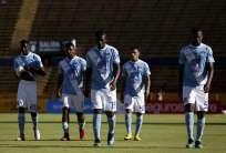 Los 'azules' cayeron 1-0 ante Universidad Católica en el estadio Olímpico Atahualpa. Foto: API