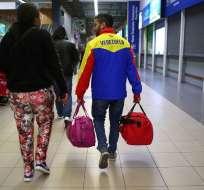Desde el sábado Perú exige pasaporte para permitir el ingreso de los migrantes venezolanos. Foto: AFP