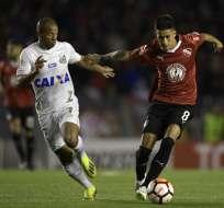 AVELLANEDA, Argentina.- Independiente se enfrentó al Santos el pasado 21 de agosto. Foto: AFP