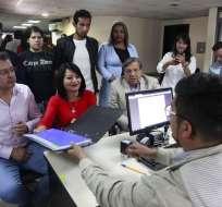 QUITO, Ecuador.- Consejo de Participación transitorio recepta hasta este martes inscripciones al concurso. Foto: API