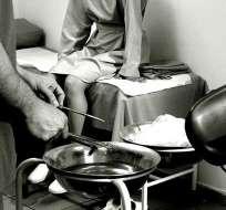 Joven murió tras abortar en una clínica clandestina. Foto: Referencial