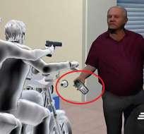 Ladrones disparan a un hombre por tener celular barato. Foto: captura de video