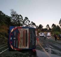 De acuerdo al informe de los paramédicos, tres de los heridos se encuentran graves. Foto: Twitter