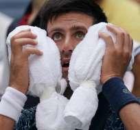 El tenista serbio superó a Marton Fucsovics en cuatro sets: 6-3, 3-6, 6-4, 6-0. Foto: TIMOTHY A. CLARY / AFP