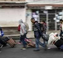 600.000 venezolanos han entrado a Ecuador en 2018. foto: AFP